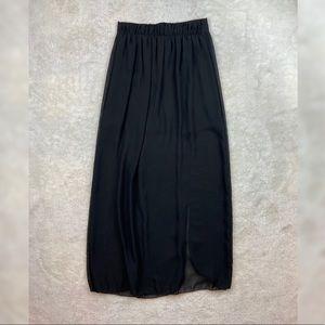 Charlotte Russe Slit Maxi Skirt
